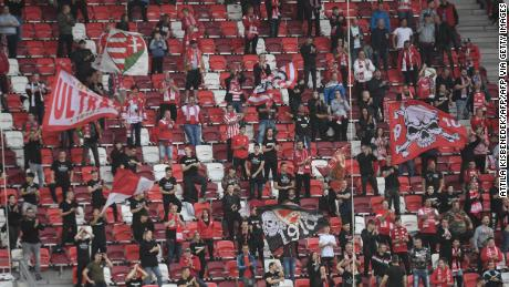 The DVTK fans had a bit more cheering in the sparsely attended game when a 1-0 home win led their team to fourth place.