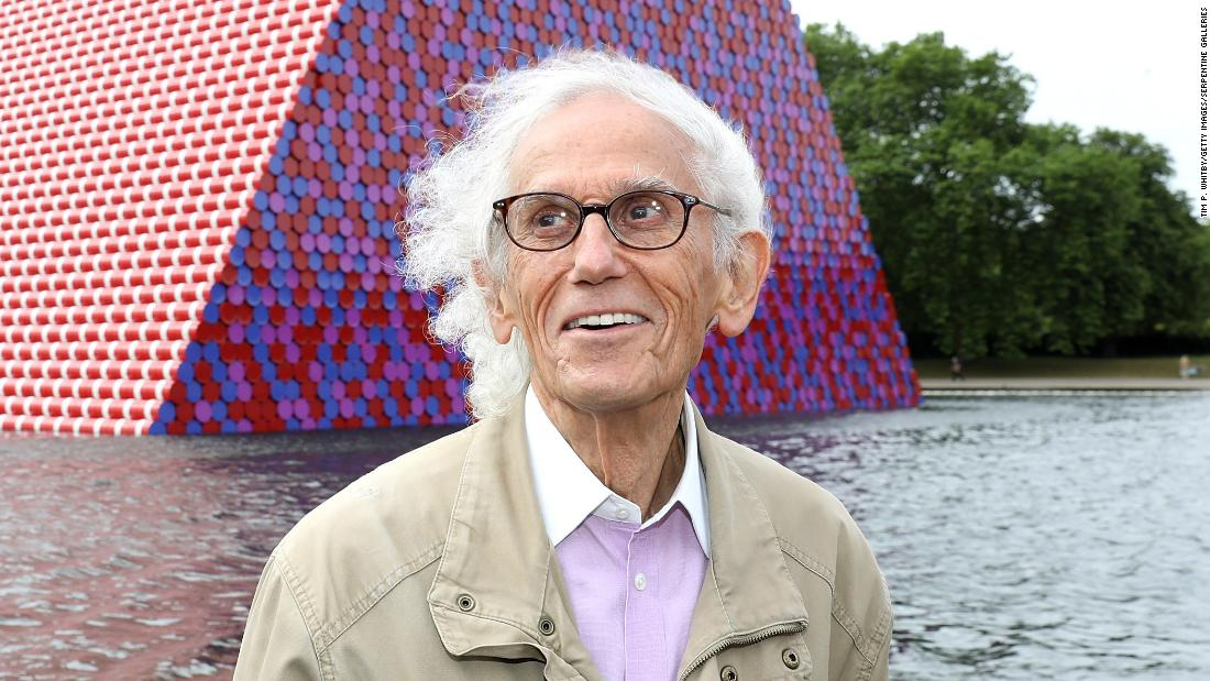 The artist Christo died at 84 years old