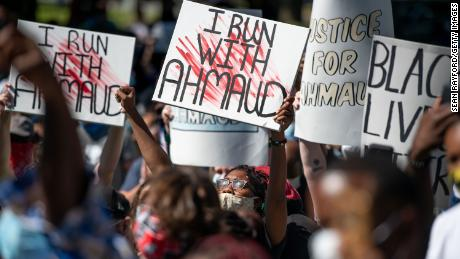 Ahmaud Arbery's tragic final race grabs an anxious America