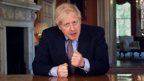 Boris Johnson calls on the UK to return to scheduled work to ease the blockade