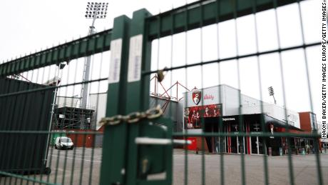 Chaos indicates that the European football season is devastated by the coronavirus pandemic