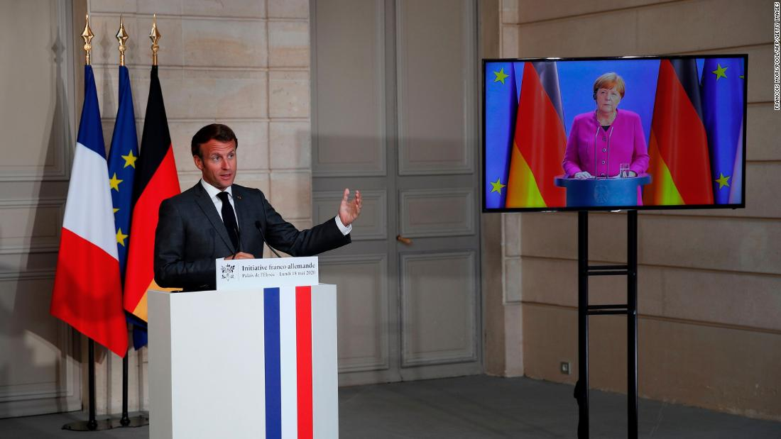 Germany and France propose a € 500 billion EU recovery fund