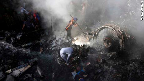 Pakistan plane crash black box found after 97 dead