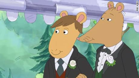 & # 39; Arthur & # 39; Mr. Ratburn's character went gay and got married in the season premiere and Twitter loved it