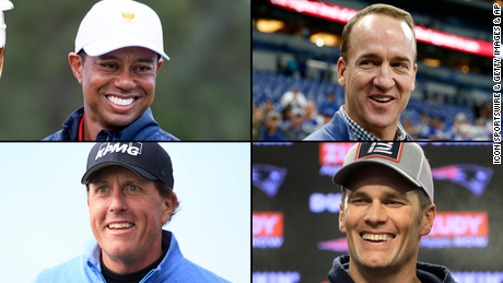 Sports royalty was set for a $ 10 million charity golf game in favor of the coronavirus rescue effort