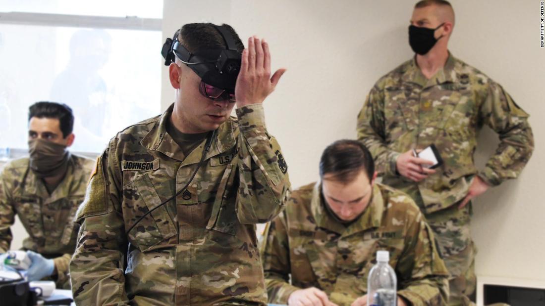 US Army pushing to develop wearable sensors to detect coronavirus symptoms