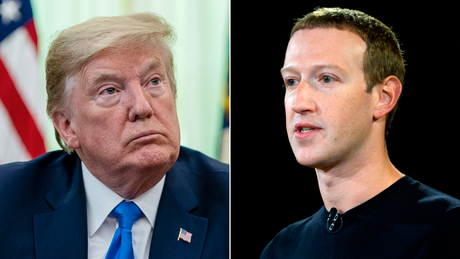 Trump and Zuckerberg spoke on the phone on Friday