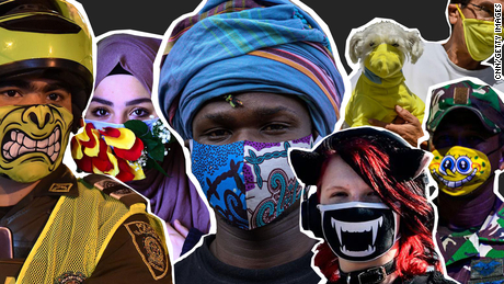 In 2020, masks are not just for protection - they are used to make a statement