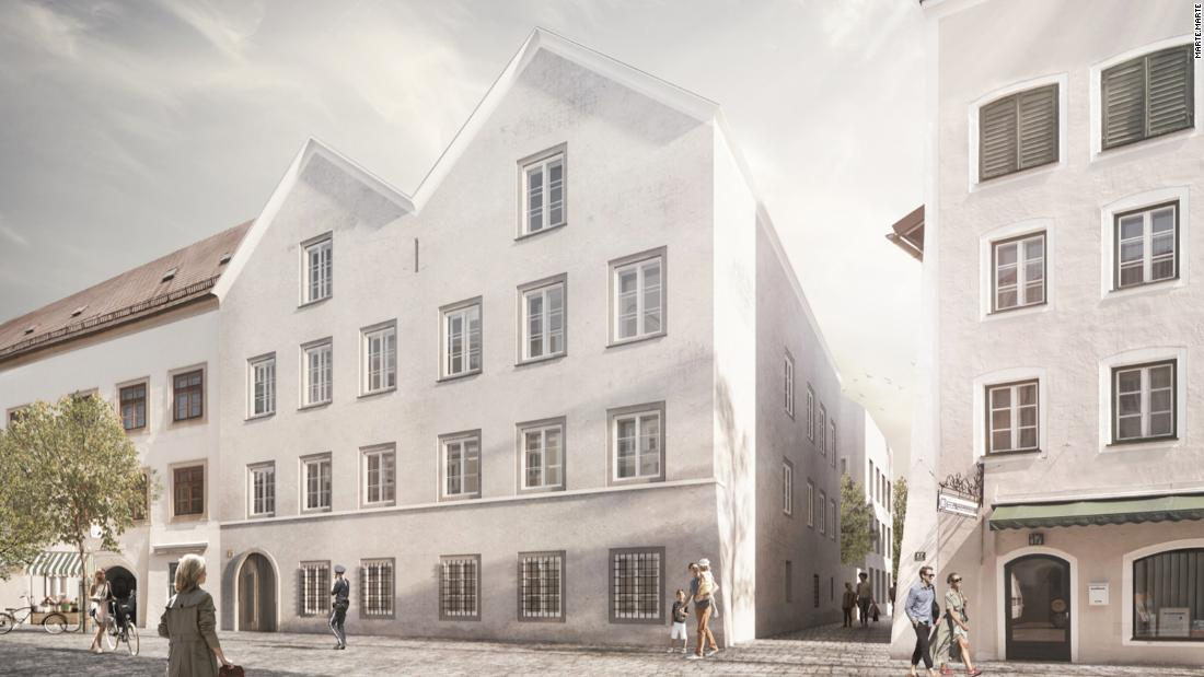 Austrian architects to turn Hitler's birthplace into a police station