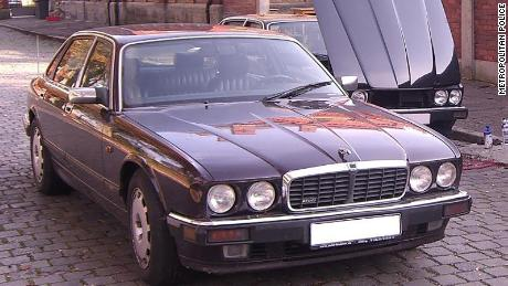 Police say this Jaguar car was originally registered in the suspect's name, but the day after Madeleine's disappearance, the car was re-registered with someone else in Germany.
