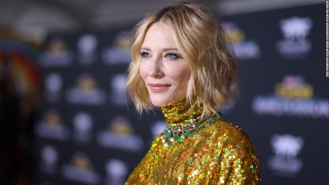 Cate Blanchett on Rohingya refugees, #TimesUp
