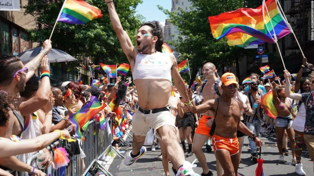 The pain and the ability to thwart gay pride celebrations