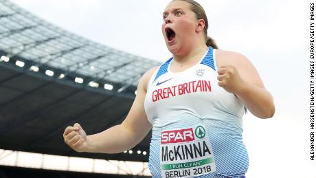 Sophie McKinna declined funding to maintain her routine.