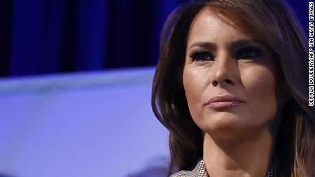 Melania Trump's messaging is frustrating for the west wing, the source says