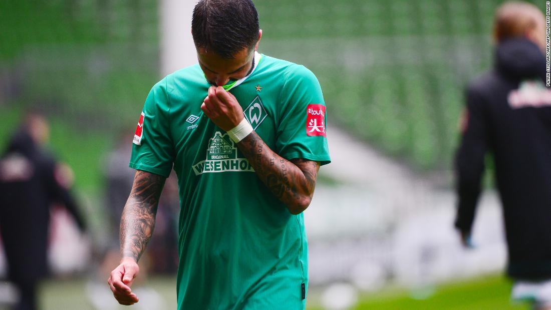 The longest running club in the Bundesliga, Werder, will face relegation