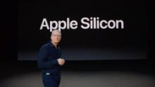 "Apple announced it's switching to its own chips for the Mac computer line, called ""Apple Silicon."""
