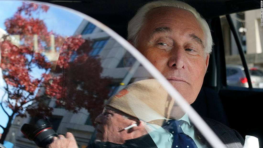 Roger Stone received 'favorable treatment' from DOJ because he's pals with Trump