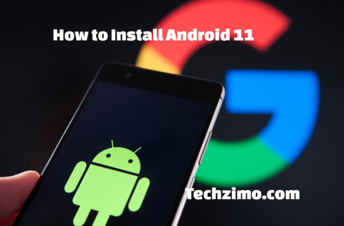 Install Android 11
