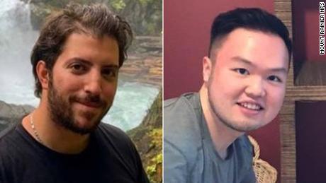 Three hikers missing in Washington's Mount Rainier National Park