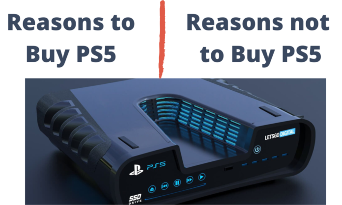 reasons to buy PS5