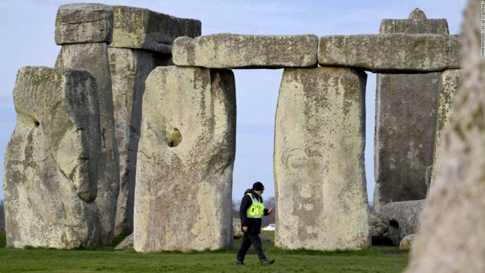 The new circle was discovered near Stonehenge.