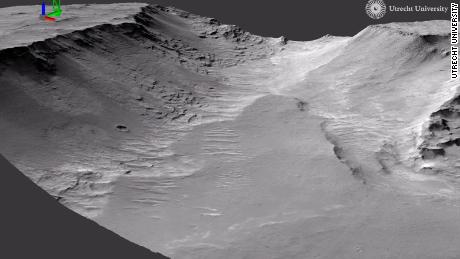 Evidence of ancient rivers spotted on Mars, according to a study