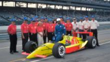 The Walker Racing team successfully qualified Ribbs at the Indy 500 in 1991 making him the first Black driver to compete in the race (Courtesy: Dan R Boyd)