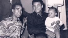 Muhammad Ali was an inspiring and talismanic figure for Ribbs (Courtesy: Chassy Media)