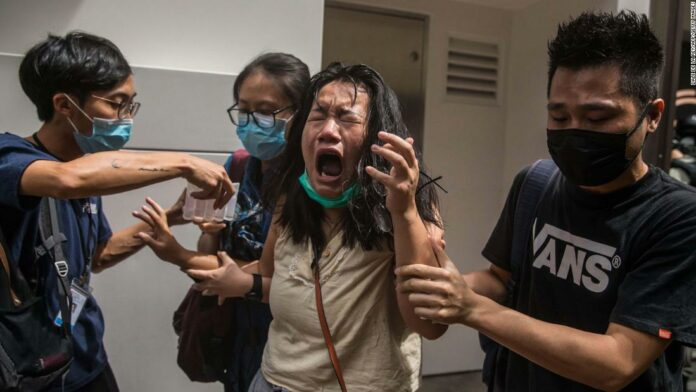July 1st protests in Hong Kong