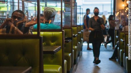 Indoor vs. outside dining: Which restaurant tables are safer?