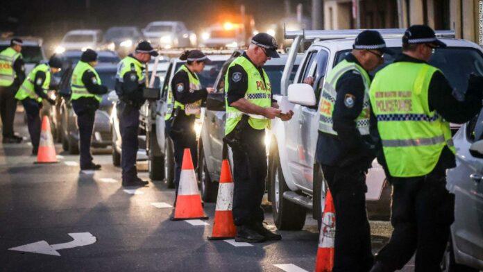 Australian border community cleaved in two by coronavirus lockdown