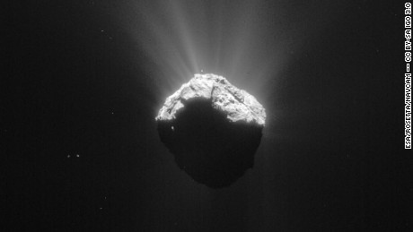 The ingredients for life on Earth may have been delivered by comets, study says