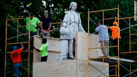 Philadelphia plans to take down Columbus statue