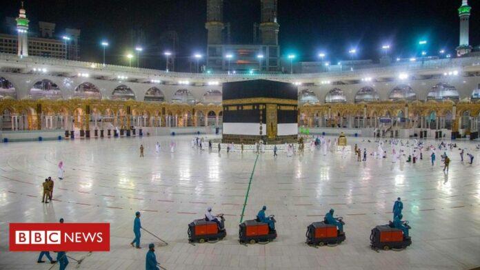 Coronavirus: Scaled back Hajj pilgrimage due to start in Saudi Arabia
