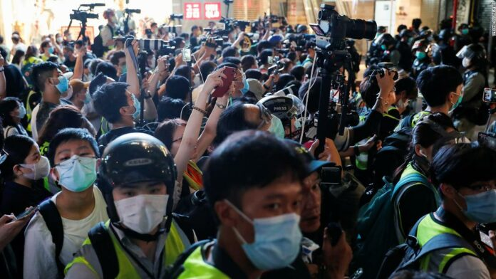 Hong Kong security law could have chilling effect on press freedom
