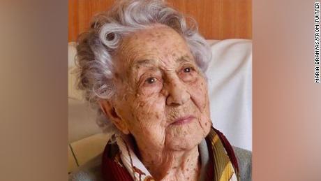 Spanish 113-year-old speaks after surviving coronavirus