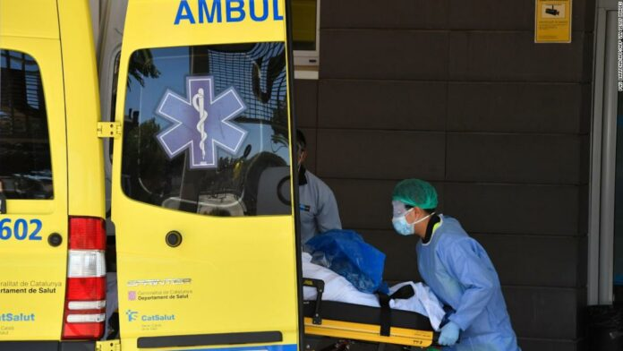 Lockdown ordered for 200,000 in northeastern Spain due to Covid-19 outbreaks