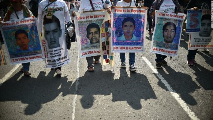 Mexico identifies remains of one of 43 students who went missing more than five years ago