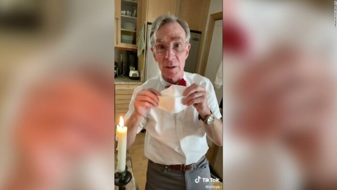 Bill Nye on why we should all wear a face mask