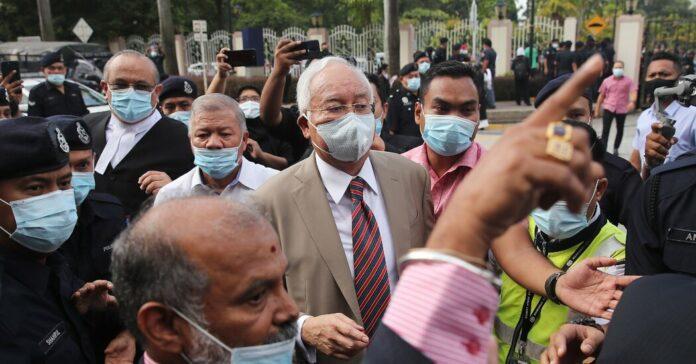 Najib Razak, Malaysia's Former Prime Minister, Found Guilty in Graft Trial