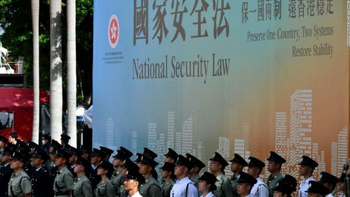 Senate approves final sanctions bill to punish China over Hong Kong
