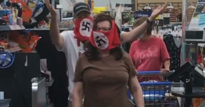 Swastika masks worn at my Minnesota hometown Walmart. What's going on?