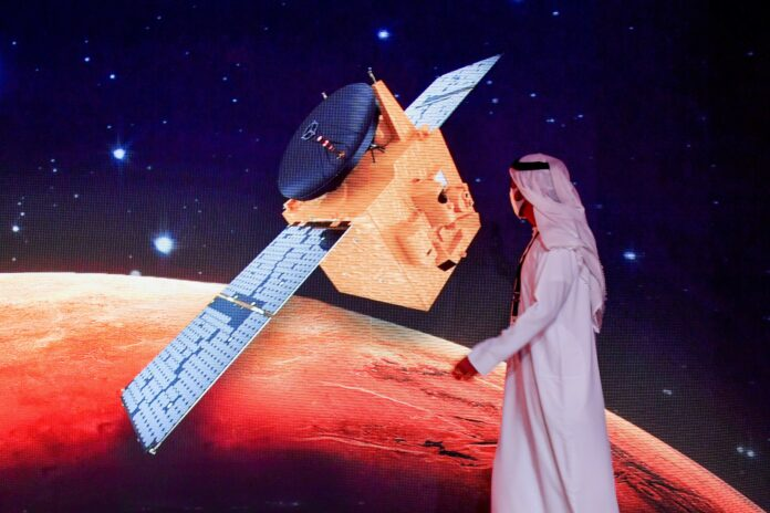 UAE successfully launches Mars probe, a historic first for Arab world