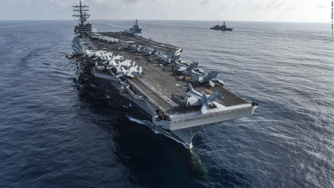 US Flexes Muscles at Beijing With Massive Navy Exercises