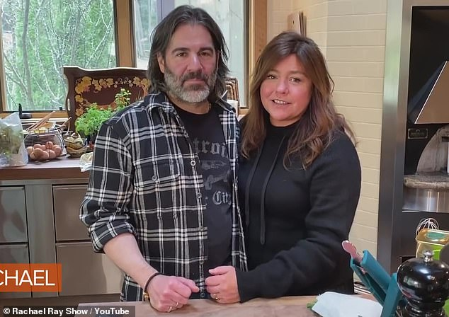 Quarantine buddy: Back in April, she gave a YouTube tour of her home in Lake Luzerne, New York, where she's been spending quarantine with husband John M Cusimano, 52