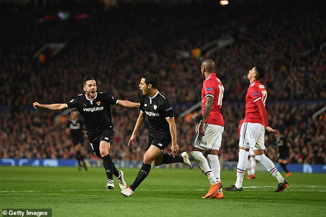 Wissam Ben Yedder scored twice late on to inflict misery on the Red Devils in a 2-1 defeat