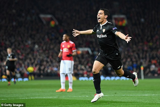Substitute Ben Yedder was the hero on the night for Sevilla with a quickfire double
