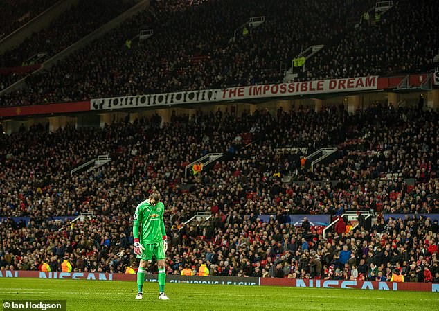 Dvid de Gea had a moment to forget for Sevilla's second which put United out of the tie