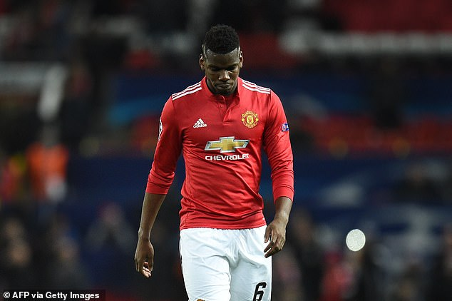 Paul Pogba started on the bench and failed to inspire his side when he was introduced