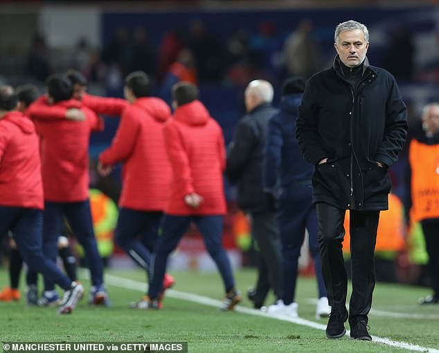 It was a game that showed Jose Mourinho's Manchester United were well behind Europe's elite